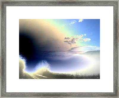Road From The Darkness Framed Print