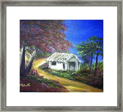 Road House Framed Print by M bhatt