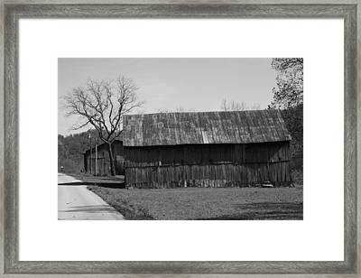 Road Side Framed Print