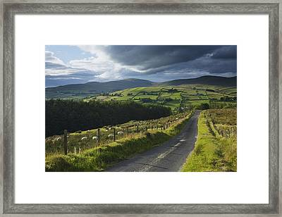 Road Through Glenelly Valley, County Framed Print