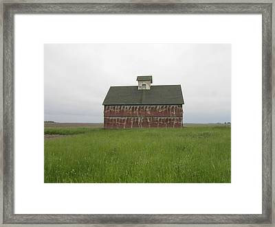 Road To Champaign-2 Framed Print by Todd Sherlock