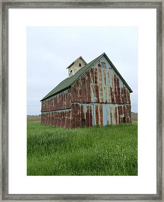 Road To Champaign Framed Print by Todd Sherlock