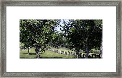 Road To Lynchburg Virginia Framed Print by Teresa Mucha