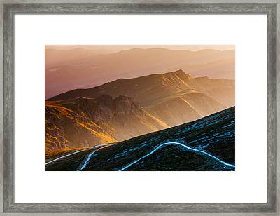 Road To Middle Earth Framed Print by Evgeni Dinev