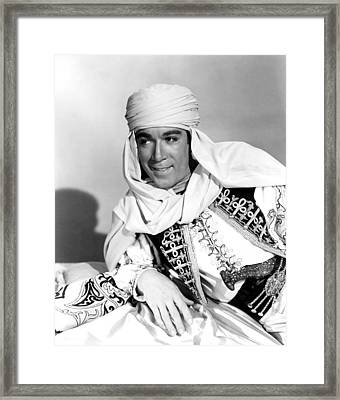 Road To Morocco, Anthony Quinn, 1942 Framed Print by Everett