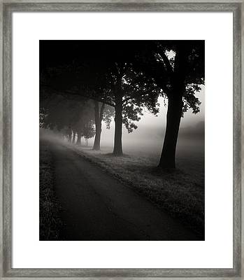 Road To Nowhere.... Framed Print by Jaromir Hron