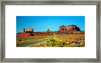 Road To Paradise Framed Print by Robert Bales
