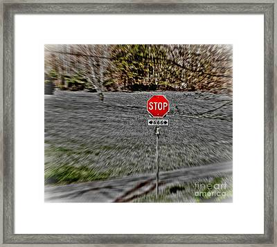 Road To Perdition 2 Framed Print by Dan Stone