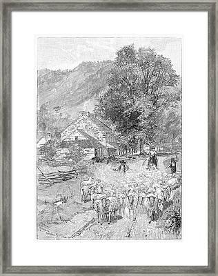 Road Travel Framed Print by Granger