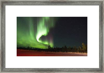Roadside View Framed Print