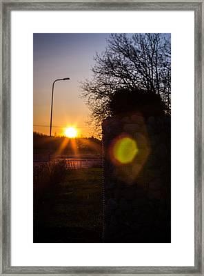 Framed Print featuring the photograph Roadwarmer by Matti Ollikainen