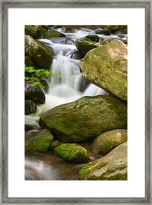 Roaring Forks Framed Print by Cindy Haggerty