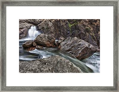 Roaring River Falls Framed Print by A A