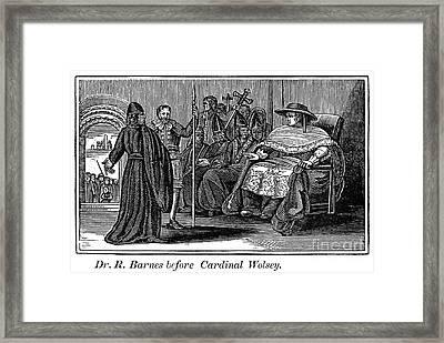 Robert Barnes (1495-1540) Framed Print by Granger