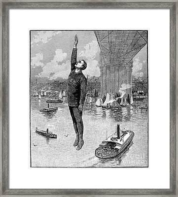 Robert E. Odlum Framed Print by Granger