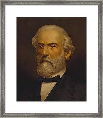 Robert Edward Lee 1807-1870, Commander Framed Print