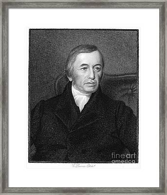 Robert Evans (d. 1849) Framed Print by Granger