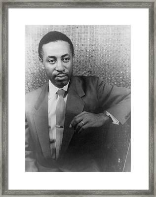 Robert Mcferrin 1921-2006, Made Framed Print by Everett