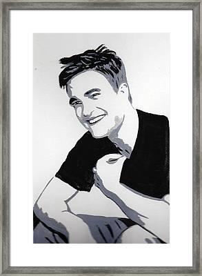 Robert Pattinson 1 Framed Print
