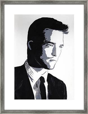 Robert Pattinson 2 Framed Print
