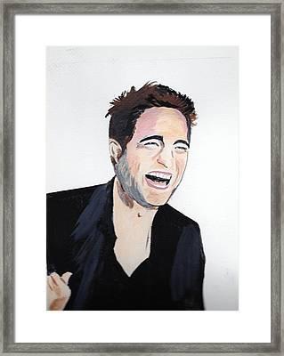 Robert Pattinson 4 Framed Print