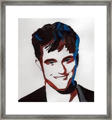 Robert Pattinson 7 Framed Print
