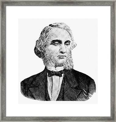 Robert Purvis (1810-1898) Framed Print by Granger