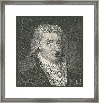 Robert R. Livingston, Politician Framed Print by Photo Researchers