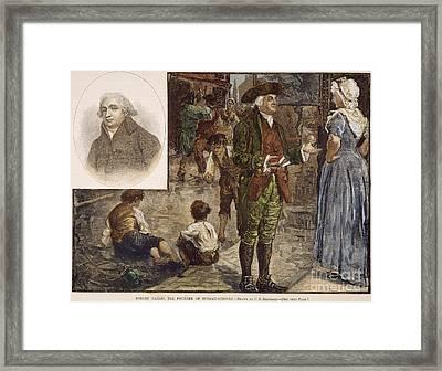 Robert Raikes (1735-1811) Framed Print by Granger