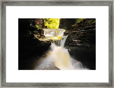 Robert Treman State Park Framed Print