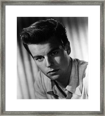 Robert Wagner, 1950s Framed Print by Everett