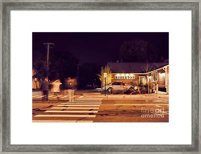 Roberto's  Framed Print by HD Connelly