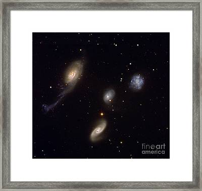 Roberts Quartet Framed Print by European Southern Observatory
