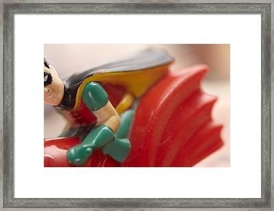 Robin Framed Print by Greg Kopriva
