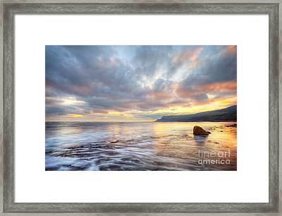 Robin Hood's Bay Framed Print by Martin Williams