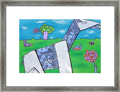 Robo Nature Framed Print