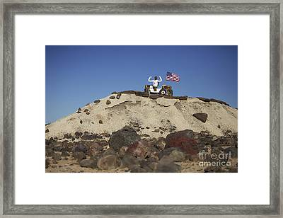 Robonaut 2 Poses Atop Its New Wheeled Framed Print