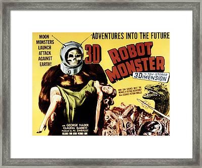 Robot Monster, 1953 Framed Print
