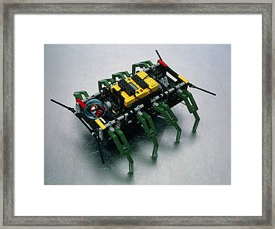 Robot Spider Constructed From Lego Framed Print