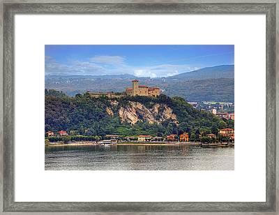 Rocca Borromeo Di Angera Framed Print