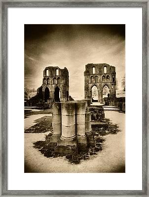 Roche Abbey Framed Print by Simon Marsden