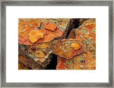 Rock Abstract I Framed Print