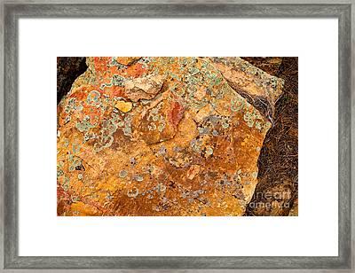 Rock Abstract II Framed Print