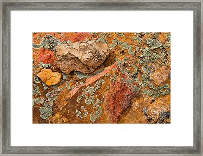 Rock Abstract IIi Framed Print