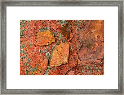 Rock Abstract Iv Framed Print