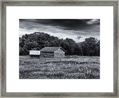 Rock Creek Station Framed Print by Joshua House