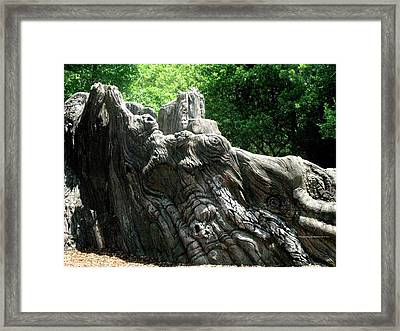 Rock Formation 2 Framed Print by Maria Urso