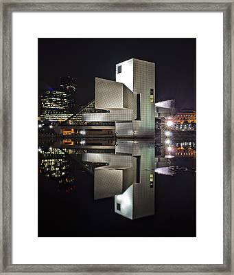 Rock Hall Reflection Framed Print by At Lands End Photography