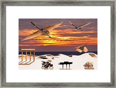 Rock Harmony Framed Print by Eric Kempson