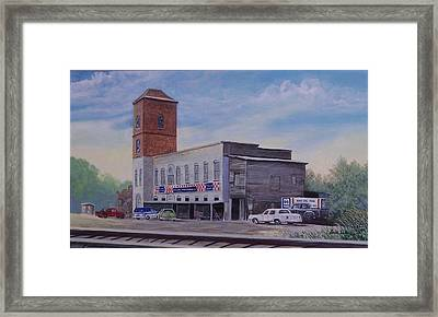 Rock Hill Feed And Supply  Sold Framed Print